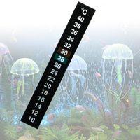 5 stück digitale temperatur aufkleber klebe thermometer streifen aquarium thermometer aufkleber temperatur thermometer celsius anzeige für angeltank