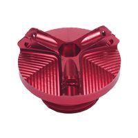 1 Stück Ölmotordeckel für Motorradmotoren rot Modern 30,65 x 19,02 mm