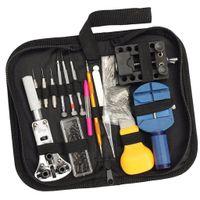 144tlg Uhrenwerkzeug Set Professionelles Reparaturset inkl. Gehäuseöffner Armband Batteriewechsel Wergzeug
