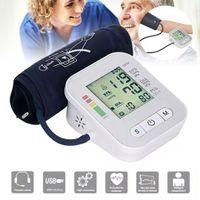 Martreach Oberarm Blutdruckmessgerät Digital Pulsmessung Blutdruck Vollautomat