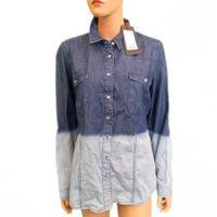 H.I.S Jeans Damen Blouse Bluse w437 ombre wash HIS-500-04-004 251583 (XXL)