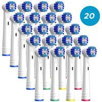 Aufsteckbürsten für Oral-B Zahnbürsten Ersatzbürsten Aufsätze, 20 Stück EB20 von TIMBERLION