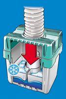 Wäschetrocknerkondensator für Abluftwäschetrockner