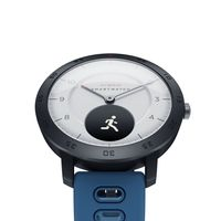 Zeblaze HYBRID Smart Watch 0,49 '' OLED-Bildschirm Armbanduhr BT4.0 Herzfrequenz Blutdruck Schlaftracking Smart Timer Echtzeit-Wettertemperatur Abnehmbarer Gurt Alarm Outdoor-Sport 5ATM Wasserdichte Herren-Smartwatch fuer iOS / Android