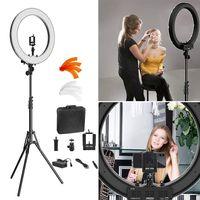 "18""LED Ringlicht & Stativständer für Selfie Makeup Live Sanftes Ringleuchte led"
