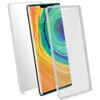 Schutzhülle für Huawei Mate 30 Pro, Vorder- + Rückseite – Transparent