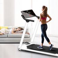 INSMA LED Anzeige Laufband Laufgerät Fitnessgerät Jogging Heimtrainer Sport Klappbar 130kg 10km/h
