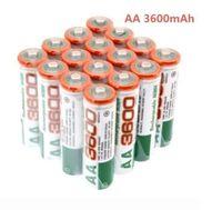 8x AA Akku 3600mAh Ni-mh Wiederaufladbar Rechargeable Akkus Batterien 1,2 V