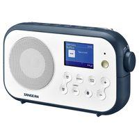 Sangean Electronics Traveller-420 DPR-42 W/B.I. Kofferradio DAB+ UKW Bluetooth Weiß