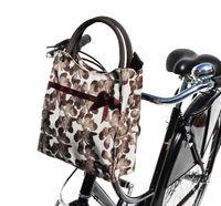 Pilgrim Lenkertasche beige mit Quick-Clip Halterung Fahrradtasche Tasche
