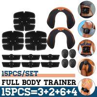 15 tlg. Muskel Training Stimulator po push up body shaper Muskelstimulation