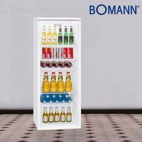 Bomann Glastürkühlschrank KSG 7280.1 / 259 Liter / 143cm