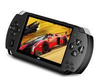 """X6 8GB Handheld Spielkonsole Retro Game Console 10000 Spiele MP4 mit Kamera 4.3"""" Game Consoles für Kinder Erwachsene"""