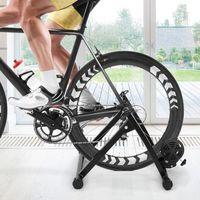 GOPLUS Rollentrainer Fahrradtrainer Fahrrad Heimtrainer bis 150kg klappbar ohne Magnetwiderstand schwarz