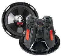 Boss Audio Systems P106DVC, Passiv, 2100W, 35 - 2200 Hz, Metall, Kautschuk, 27 cm, 27 cm