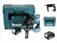 Makita DHR 182 T1J Akku Bohrhammer 18V 1,7J SDS plus Brushless + 1x Akku 5,0Ah + Makpac - ohne Ladegerät