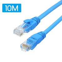 CAT 6 Ethernet Kabel LAN Netzwerk Internet Patchkabel 10m