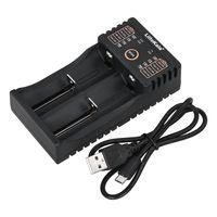 Liitokala Lii-202 Smart Ladegerät für 1.2V / 3.7V / 3.2V / 3.85V AA / AAA 18650/18490/18350/16340/14500/10440 NiMH Lithium Wiederaufladbare Batterien