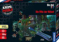 Kosmos 69797 Krimi Puzzle Die drei Fragezeichen Die Villa der Rätsel