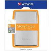 """Verbatim Store'n'Go USB 3.0 1TB, 1000 GB, USB 3.0, 63.5 mm (2.5 """"), 5000 Mbit/Sek, Silber, 121 mm"""