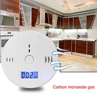 MENGS CO Melder Kohlenmonoxidmelder , Gasmelder, Gaswarner mit LCD-Display