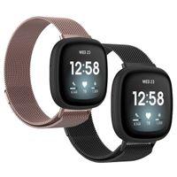 Fitbit Versa 3,Fitbit Sense Band: iMoshion Uhrenarmband Multipack Mailand