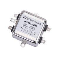 HA32L 250VAC 20A Wechselstrom EMI Filterschalter Einphasen Leitungsrauschunterdrücker