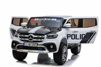 Kinder Elektro Auto Mercedes Kinderauto Elektrofahrzeug Mercedes X-Klasse Police