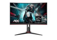 AOC Gaming CQ27G2U/BK - 68,6 cm (27 Zoll) - 2560 x 1440 Pixel - Quad HD - LED - 1 ms - Schwarz