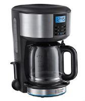 Russell Hobbs 20680-56 Buckingham Filterkaffeemaschine, Glaskanne, 15 Tassen, Zeitschaltuhr