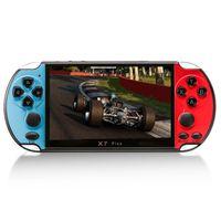 5,1-Zoll-X7 Plus-Videospielkonsole Handheld-Spieler Double Rocker 8 GB Speicher Eingebauter MP5-Gamecontroller fš¹r 1000 Spiele