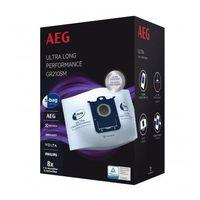 AEG GR210SM S-bag Ultra Long Staubsaugerbeutel, Farbe:Weiß