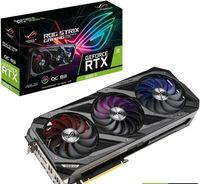Asus ROG-STRIX-RTX3060TI-O8G-V2-GAMING NVIDIA, 8 GB, GeForce RTX 3060 TI, GDDR6, PCI Express 4.0, Prozessorfrequenz 1860 MHz, Anzahl HDMI-Anschlüsse 2, Speichertaktfrequenz 14000 MHz