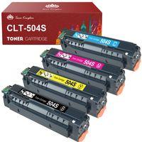 Toner Kompatibel für CLT-P504C CLT-504 CLT-K504S CLT C504S M504S Y504S für Samsung Xpress C1860FW C1810W Toner Samsung C1860 Samsung CLX-4195FW CLX-4195FN CLX 4195 (4er-pack)