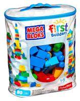 Mega Bloks Set Feuerwehr Leiterwagen mit 80 tlg Bausteinbeutel