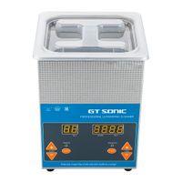 Digitale Display Ultrasonic Cleaner Ultraschall Reiniger Reinigungsgerät Edelstahltank Cleaner Verstellbar Zeit Für Schmuckreinigung  2L