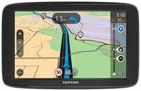 TomTom Start 62 EU-Navigationssystem 15,24 cm (6 Zoll) Display, Touchscreen, Verkehrsfunkkanal (TMC), Spurassistent, Farbe: Schwarz