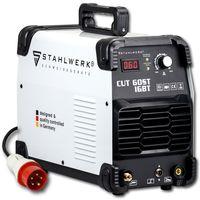 STAHLWERK CUT 60 ST IGBT Plasmaschneider mit 60 Ampere bis 24 mm Schneidleistung