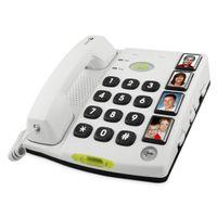 Doro Secure 347 Analoges Telefon Weiß