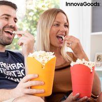 GKA 1 Silikon Popcorn Maker für die Mikrowelle Popcorn Bereiter faltbar Popcornbox Popcorn in 2 Minuten