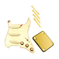 Geladene Pickups Pickguard W / Neckplate Für E Gitarre DIY Teile