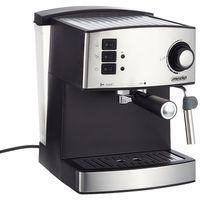 Mesko Espresso Maschine Edelstahl   1,6 Liter   15bar   850 Watt