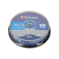 Verbatim - 10 x BD-R - 25 GB 6x - Spindel