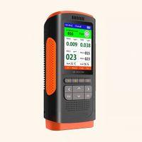 Feinstaubmessgerät Partikel Laser Feinstaubbelastung (PM1.0/PM2.5/PM10) Formaldehyd (HCHO) Benzol/TVOC Temperatur Feuchtigkeit FS5