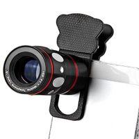 Smartphone-Objektiv 4-in-1 mit Tele, Weitwinkel, Fisheye, Makro-Objektiv