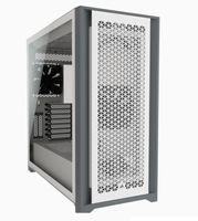 Corsair Computergehäuse iCUE 5000D Seitenfenster, Weiß, ATX, Netzteil im Lieferumfang enthalten Nein