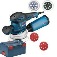 Bosch GEX 125 - 150 AVE Exzenterschleifer + L-Boxx