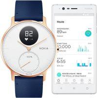 Nokia Steel HR Smartwatch 36mm Roségold-blau