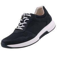 GABOR Rollingsoft Damen Sneaker Blau, Schuhgröße:EUR 38