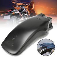 Motorrad Heckfender Kotflügel Spritzschutz Schwarz 420mm Für Honda Für Yamaha